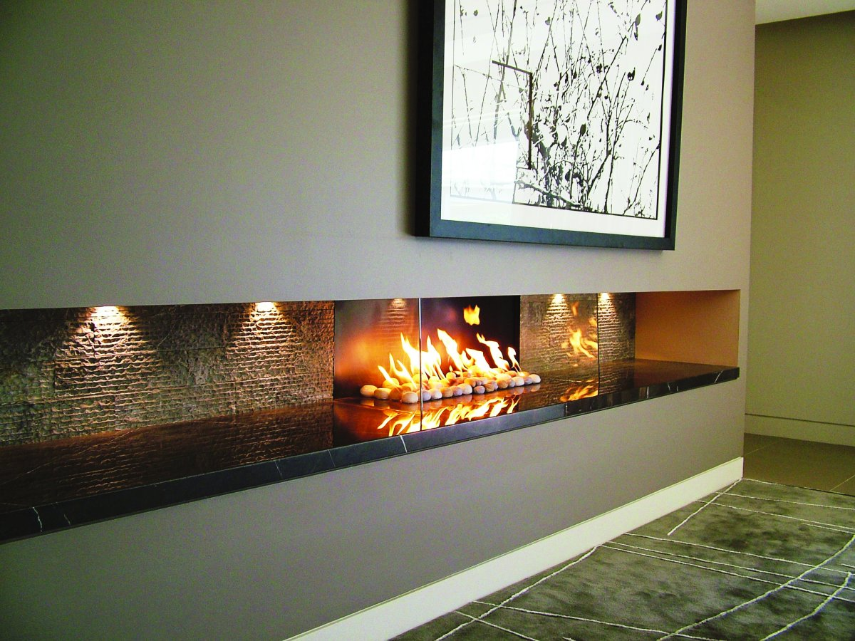 Pure Vision Gas Log Fire Real Flame Dandenong In Melbourne